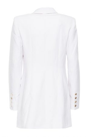 Guess White Trench Coat - Back